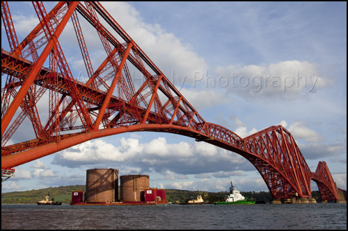 Forth Replacement Crossing – arrival of the steel foundation caissons