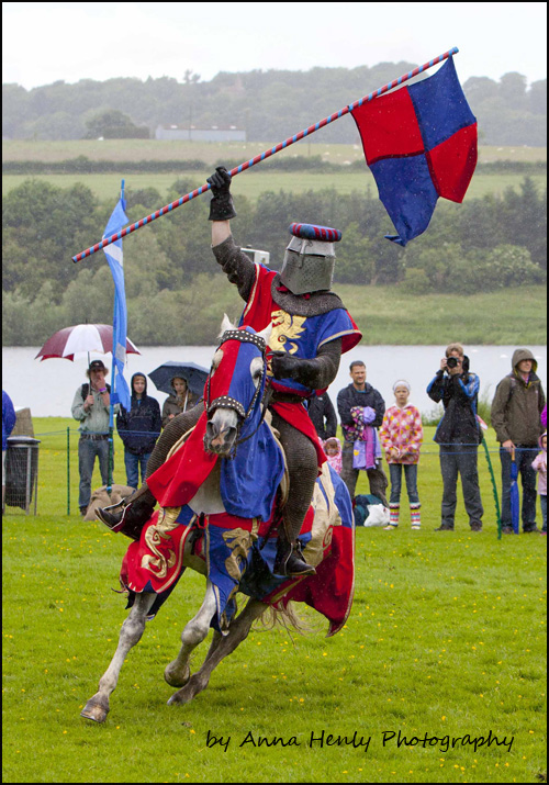 The Knights of Royal England at Linlithgow Palace